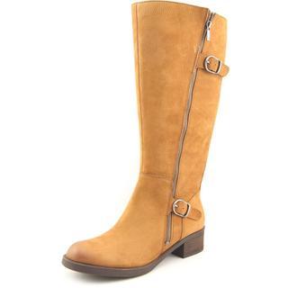 Lucky Brand Women's 'Hoxy Wide Calf' Nubuck Boots