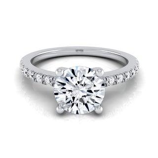14k White Gold 3/4ct TDW White Diamond Engagement Ring