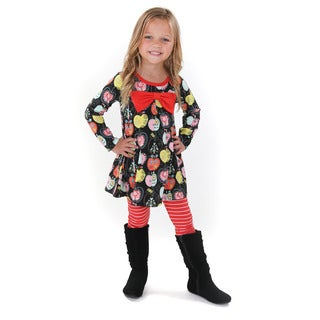 Jelly the Pug Girls' Lisa Knit Set