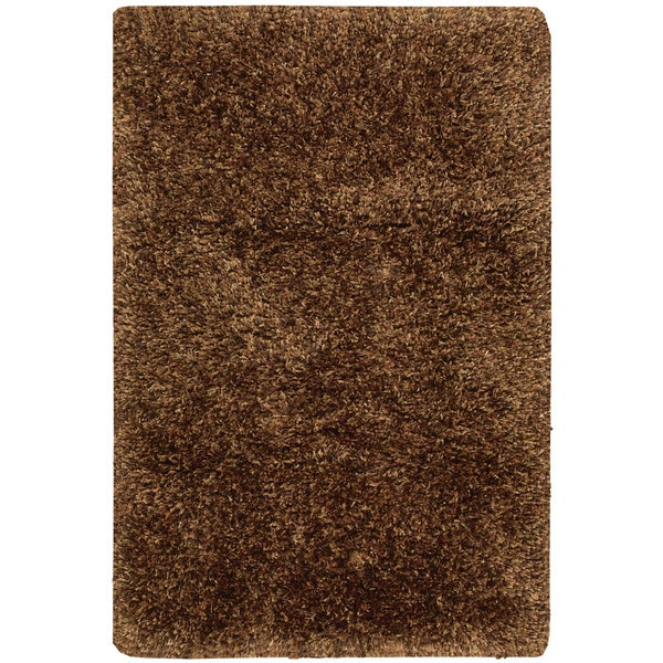 Rug Squared Los Angeles Chocolate Area Rug (3'6 x 5'6) - 3'6 X 5'6