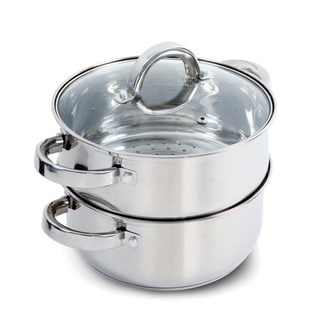 Oster Hali Stainless Steel Stovetop Steamer Set With Lid