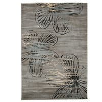"Windsor Home Opus Modern Floral Area Rug  5'3x7'7"" - 5'3 x 7'7"
