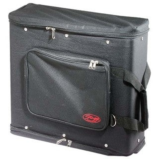 Stagg Black Nylon 3-unit Rack Carrying Bag