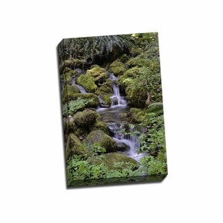 Picture It on Canvas 'Japanese Gardens II' Gallery Wrapped Art
