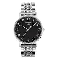 Tissot Men's T-Classic Everytime Rhodium Dial Watch