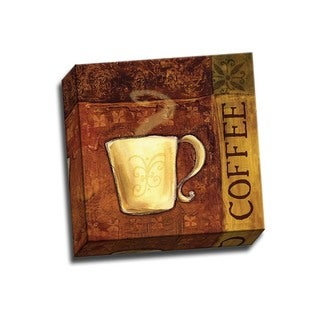 Picture It on Canvas 'Coffee Break II' 12x12 Wrapped Canvas