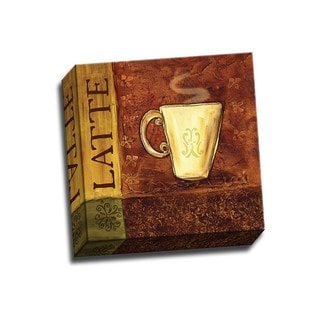 Picture It on Canvas 'Coffee Break III' 12x12 Wrapped Canvas
