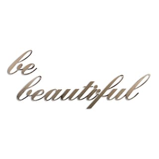 Letter2Word 'Be Beautiful' Dimensional Decor