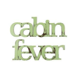 Letter2Word Cabin Fever PVC Dimensional Decor
