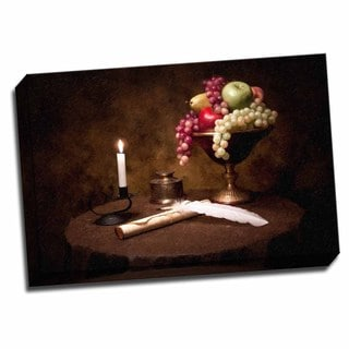 Picture It on Canvas 'The Scribe' 24x16 Wrapped Canvas Wall Art