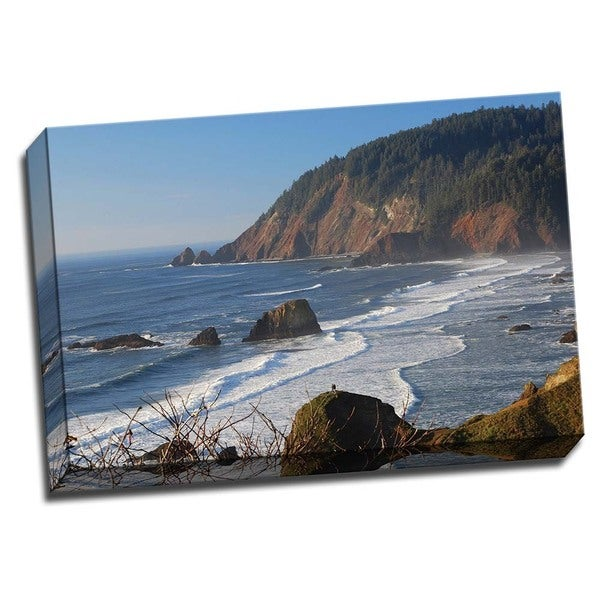 Shop Picture It On Canvas Ecola Afternoon Ii 24 X 16 Wrapped