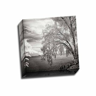 Picture It on Canvas 'Hopewell Shores Square II' 12-inch x 12-inch Wrapped Canvas