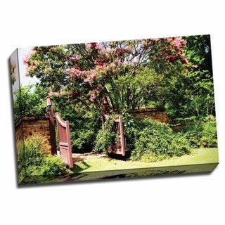Picture It on Canvas 'Crepe Myrtle I' 24-inch x 16-inch Wrapped Canvas