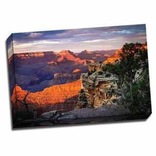 Picture It on Canvas 'Mather Point Sunset I' Wrapped Canvas Wall Art