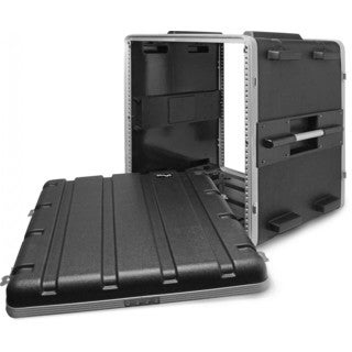 Stagg ABS-12U Black Polyethylene Hard Case for 12-unit Rack