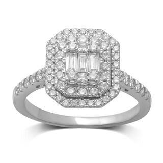 Unending Love 14k White Gold 3/4ct TDW Diamond Ring (IJ I1-I2)