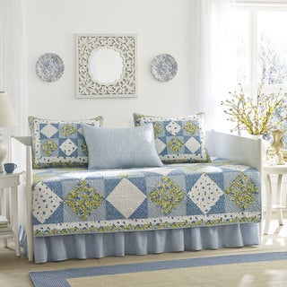 Laura Ashley 5-piece Grace Daybed Cover Set