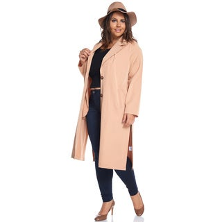 Taylor Knee Length Trench