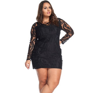 Tabitha Lace Sleeved Dress