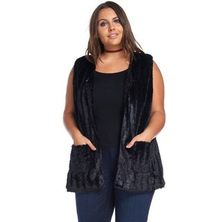 Jillian Faux Fur Vest