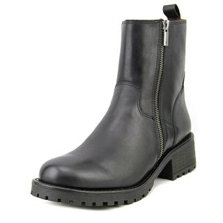 Lucky Brand Women's Onduras Black Leather Boots