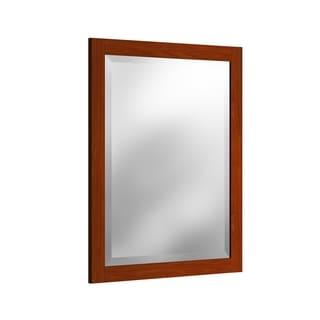 Alaterre 24-inchChestnut Vanity Mirror