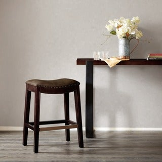 Madison Park Nomad Mushroom Saddle Counter Stool
