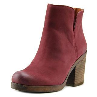 Lucky Brand Women's 'Orsann' Red Nubuck Boots