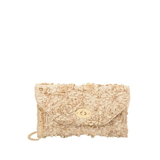 Mellow World Paisley Rose Petal Clutch
