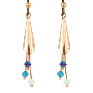 Copper Crystal Prakasha Earrings