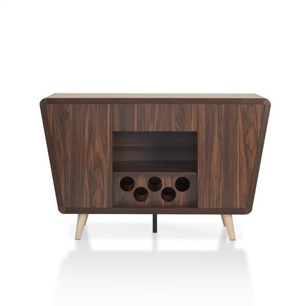 Beautiful Furniture Of America Pearsen Mid Century Modern Retro Dark Walnut Dining  Buffet/Server   Free Shipping Today   Overstock.com   19940949