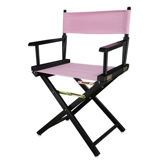 Black Frame 18-inch Director's Chair