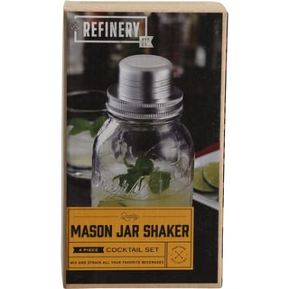 Refinery Mason Jar Cocktail Shaker
