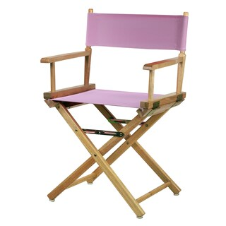 Natural Frame 18-inch Director's Chair
