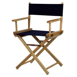Natural Frame 18-inch Director's Chair (More options available)