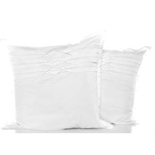 City Scene Triple Diamond White European Shams (Set of 2)
