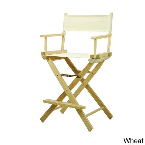 Natural Finish 24-inch Director's Chair
