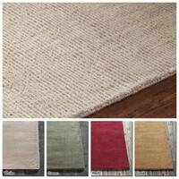 """Artist's Loom Hand-Tufted Casual Solid Pattern New Zealand Wool Rug (7'9""""x10'6"""")"""