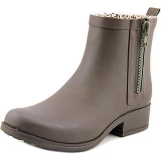 Lucky Brand Women's 'Rhandi' Green Rubber Ankle-height Rain Boots