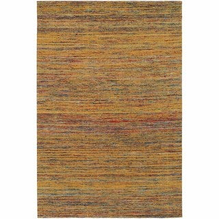 "Artist's Loom Hand-Woven Contemporary Solid Pattern Rug (7'9""x10'6"")"