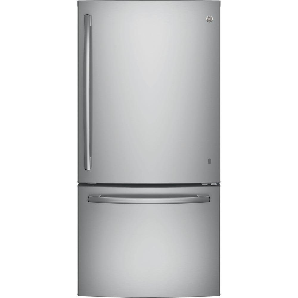 GE  Series Energy Star 24.9 cubic feet Bottom Freezer Drawer Refrirator (stainless steel)
