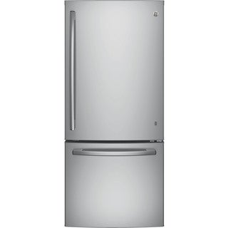 GE Series Energy Star 20.9-cubic foot Bottom Freezer Refrigerator