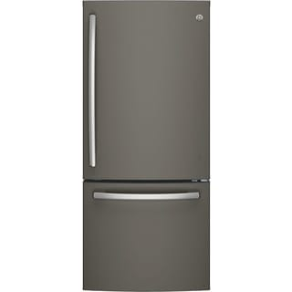 GE SERIES ENERGY STAR 20.9 CU. FT. BOTTOM FREEZER REFRIGERATOR