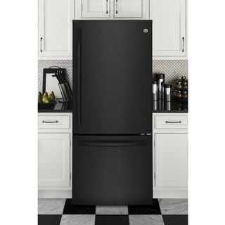 GE Series Energy Star 20.9 Cubic-feet Bottom Freezer Refrigerator
