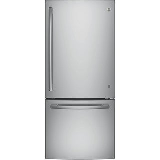 GE Series Energy Star 21 cubic foot Bottom Freezer Refrigerator