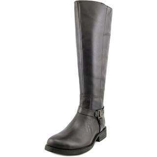 Vince Camuto Women's 'Farren 2 Wide Calf' Brown Leather Boots