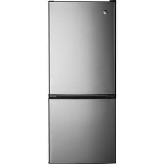 GE 10.5 CU. FT. BOTTOM-FREEZER REFRIGERATOR