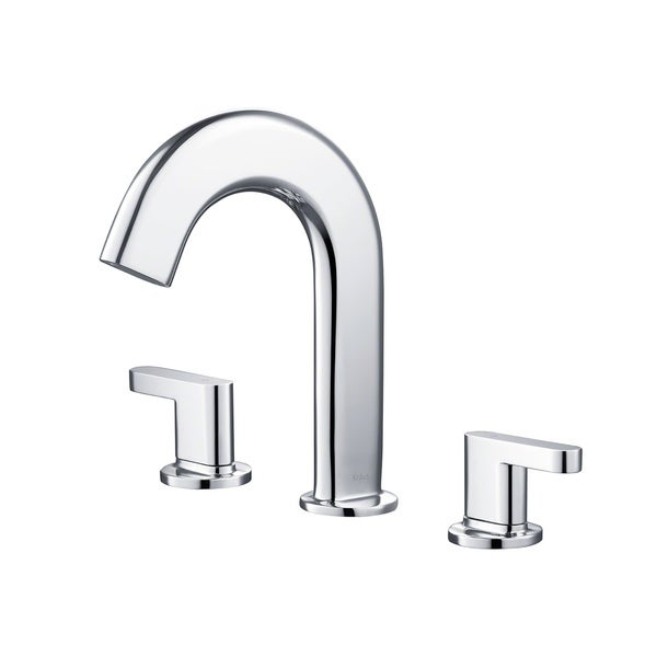 Shop Kraus Ino Two Handle 8 Inch Widespread Bathroom Faucet With Custom Laminar Flow Free