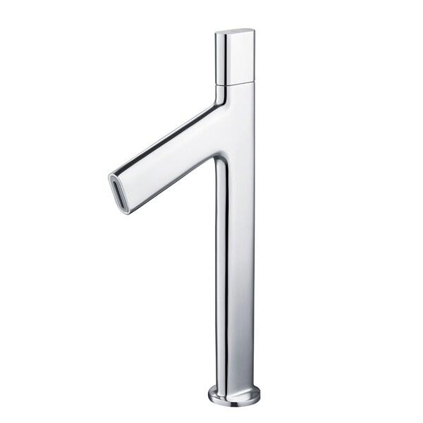 Kraus KEF-15700 Ino Single Hole Single-Handle Bathroom Vessel Faucet with Custom Laminar Flow