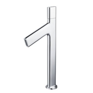 KRAUS Ino Vessel Single Handle Bathroom Faucet with Custom Laminar Flow